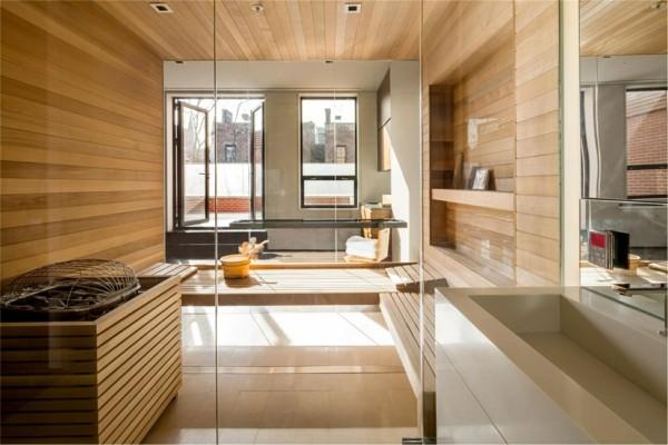 laminat an die wand badezimmer frisches design