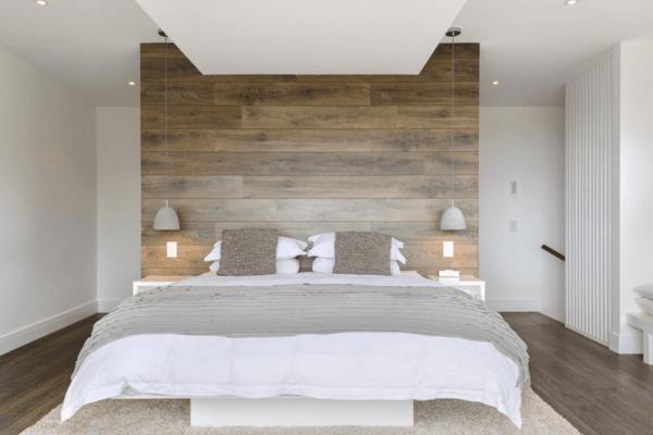 laminat an die wand bringen und f r ein stilvolles wanddesign sorgen. Black Bedroom Furniture Sets. Home Design Ideas