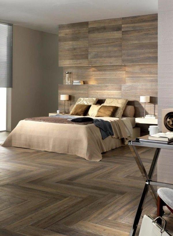 laminat an die wand wanddesign schlafzimmer gemütliches interieur