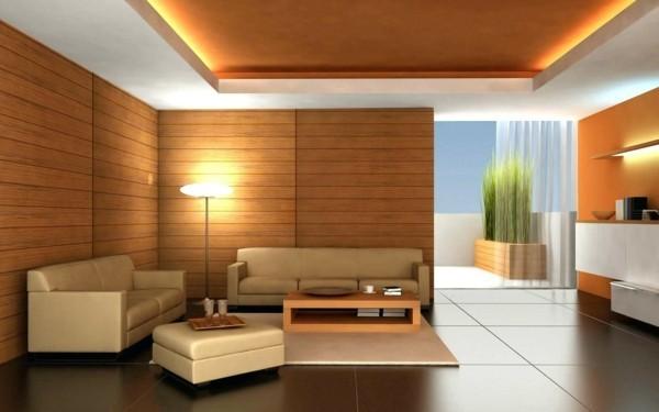 laminat an die wand wandpaneele wohnzimmer einrichten