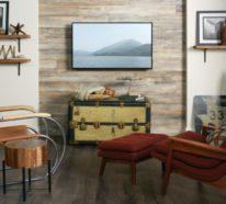 Laminat an die Wand bringen und für ein stilvolles Wanddesign sorgen
