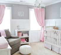Mädchen Babyzimmer erfolgreich gestalten durch richtige Farbkombinationen