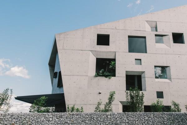 moderne architektur tolle fensterverteilung