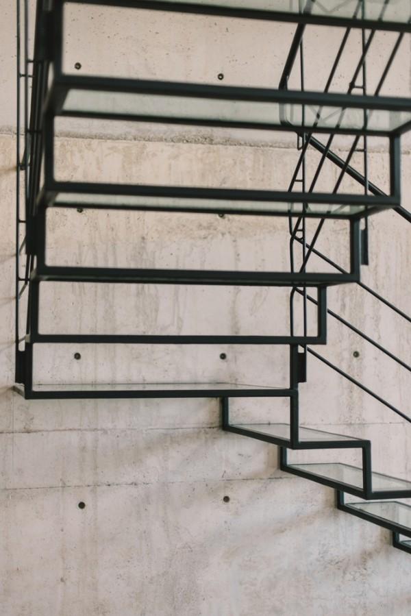 moderne architektur treppen konstruktion