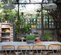 Outdoor Küche und Garten Lounge geplant? Hier sind einige schicke Varianten!