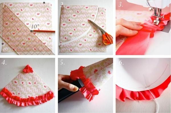 papiertüten selber machen tafeldeko geburtstag