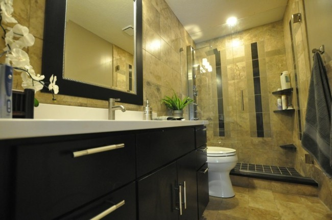 quadratische tolle rahmen Badezimmerspiegel