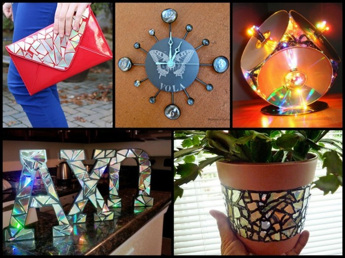 recycling bastelin mit cds upcycling ideen deko ideen