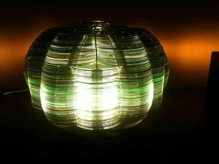 recycling bastelin mit cds upcycling ideen wand deko ideen mandala vorlage diy lampe