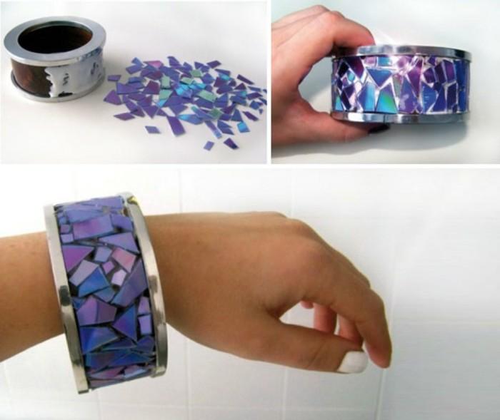 recycling bastelin mit cds upcycling ideen wand deko ideen schmuck selber machen