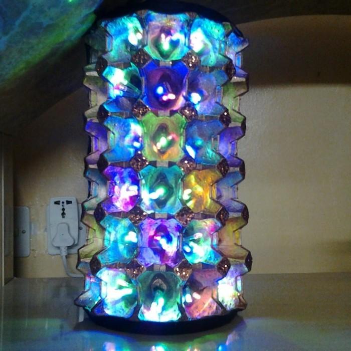 resycling basteln mit eierkarton basteln mit kindern basteln mit klopapierrollen diy lampe