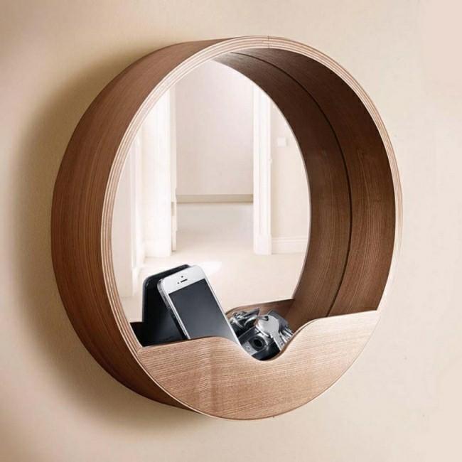 runde rahmen idee Badezimmerspiegel