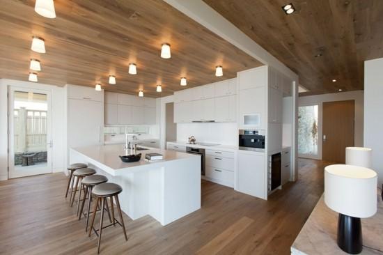 Moderne Deckengestaltung Küche   Schone Decken Beeinflussen Doch Das Raumgefuhl