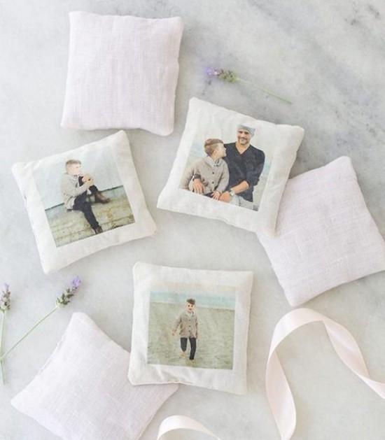 selber basteln Fotos Muttertagsgeschenke