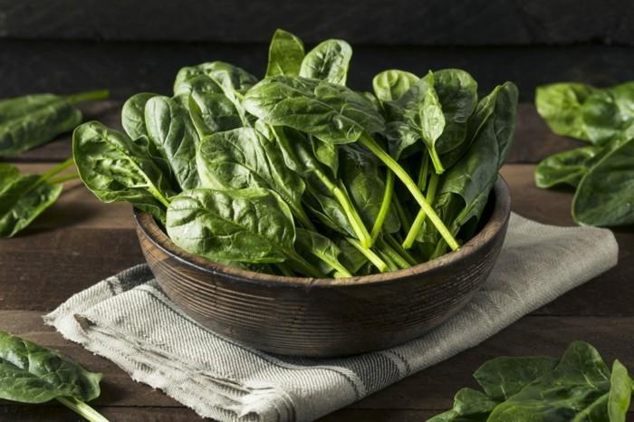 spinat gesund was tun gegen heißhunger
