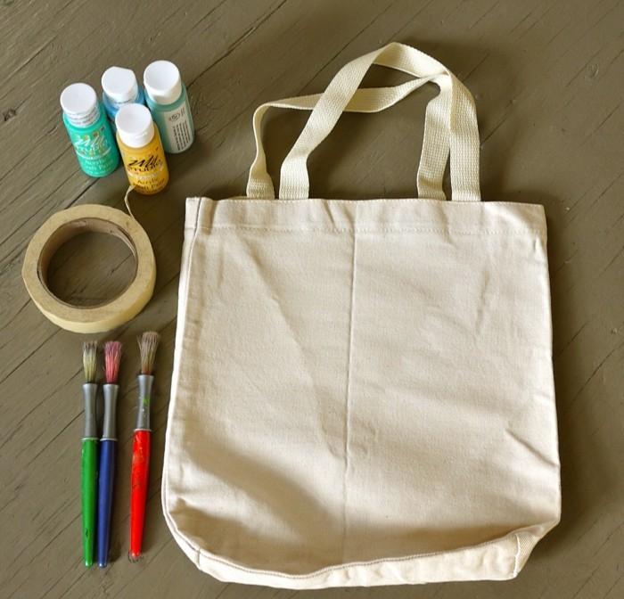 Upcycling ideen einfach  Stoffbeutel nähen und gestalten- 25 Upcycling Ideen mit praktischer ...