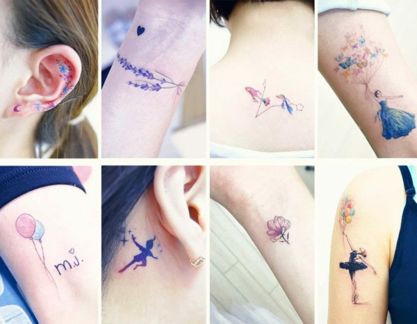 tattoos frauen märchentattoo ideen
