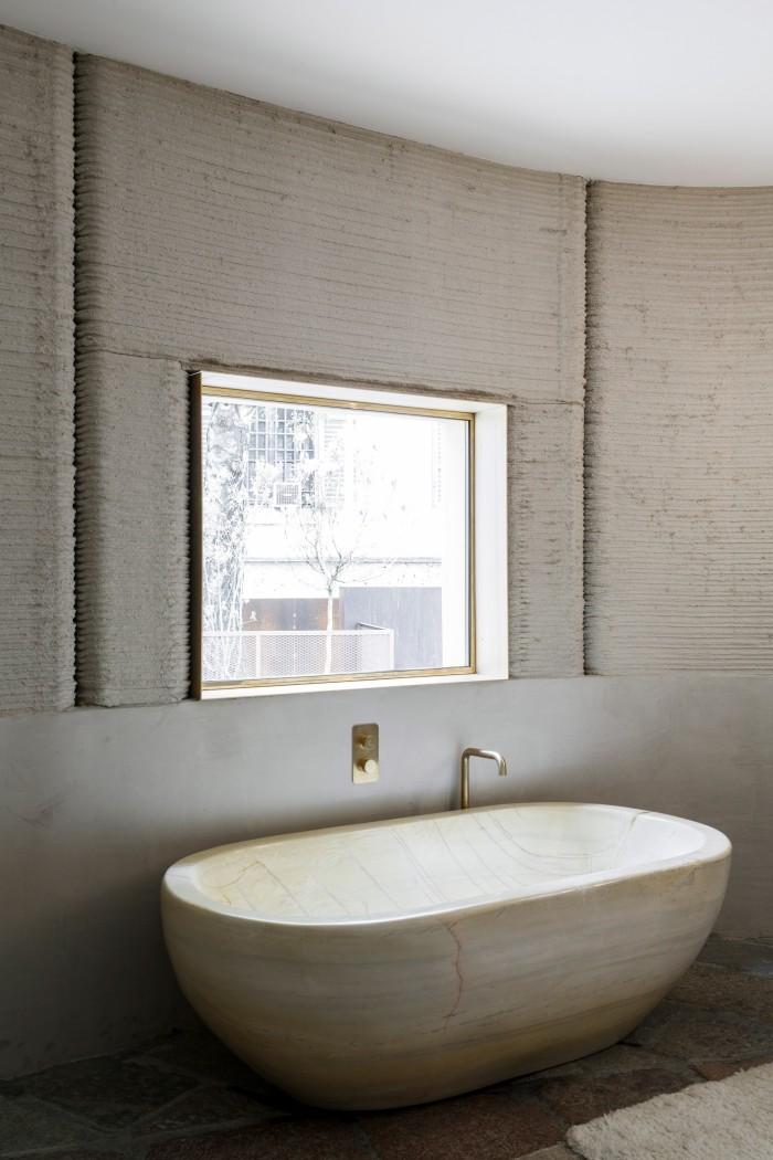 tramhaus eine badewanne
