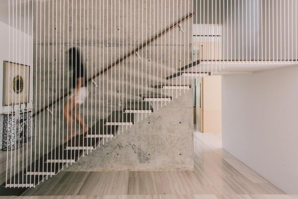 treppenhaus innen moderne architektur