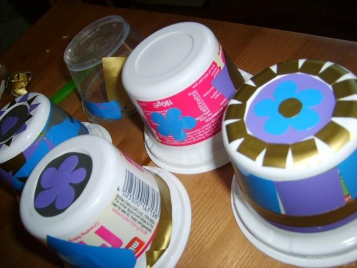 upcycling ideen recycling basteln muell reduzieren vogelfutterhaus selber bauen muellermilch