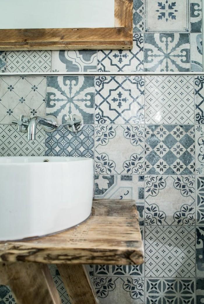Vintage Fliesen Verleihen Jedem Raum Einen Individuellen Charme - Patchwork fliesen bad