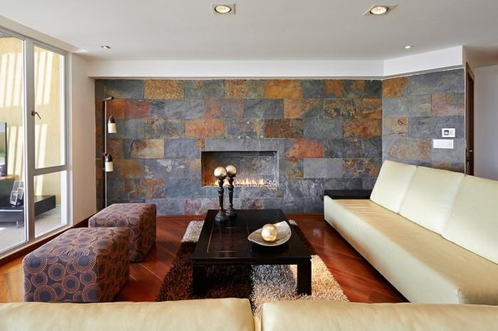 Wandfliesen wohnzimmer als eine wundervolle alternative f r die wandgestaltung - Wandfliesen alternative ...