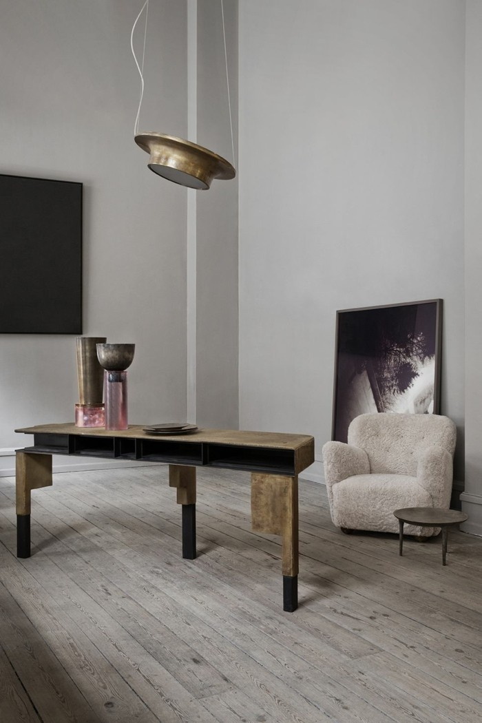 42 wohnzimmer lampen und leuchten und was die trends 2018. Black Bedroom Furniture Sets. Home Design Ideas