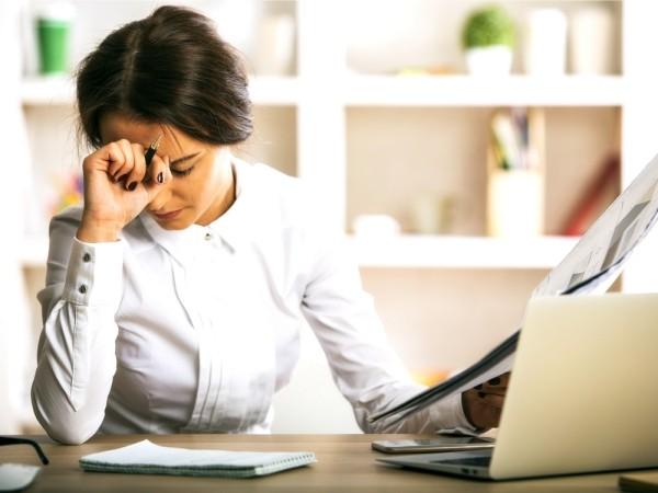 Auszeit benötigt zu viel Arbeit verursacht Stress