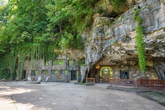 Beckham Cave Home Arkansas USA ideal für Gruppen –oder Familienurlaub