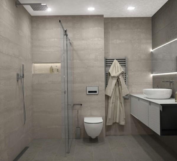 Beleuchtung in den Ecken bad neu gestalten