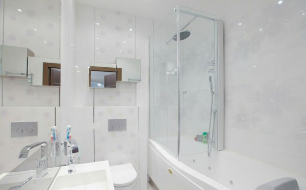 Blendend Weiß bad neu gestalten