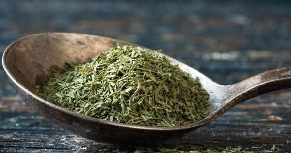 Dill getrocknete Samen Tee
