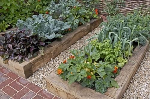 Garten Hochbeete selber bauen