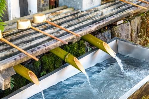 Gartenideen Wasser Grundelement Feng Shui ewige Bewegung in der Natur