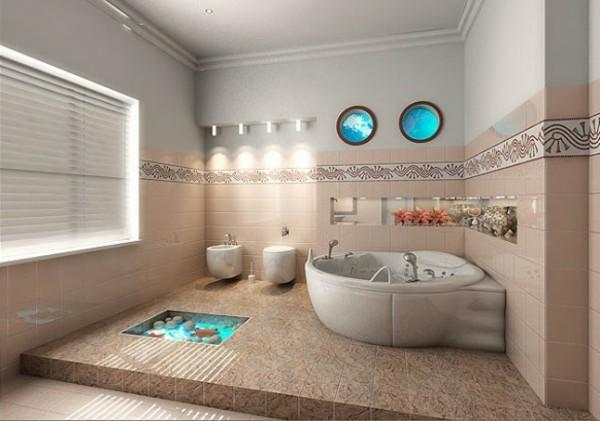 Kleiner Podest bad neu gestalten