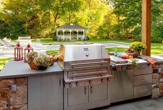 Kochen im Freien Outdoor Küche ideen