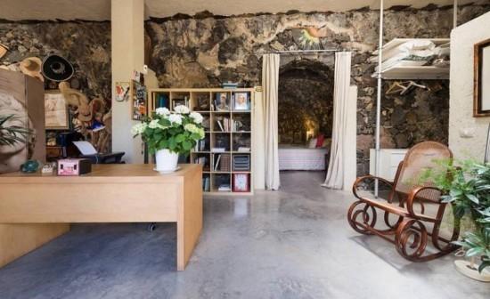 Loft Höhle Gran Canara kanarische Inseln einmalige Wohnatmosphäre viel Komfort