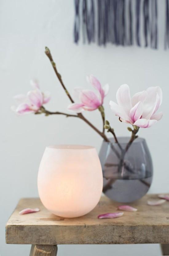 magnolie bringt etwas extravaganz in den garten fresh. Black Bedroom Furniture Sets. Home Design Ideas
