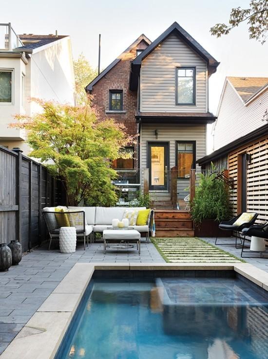 Modern Garten Pool