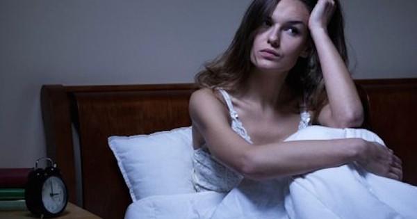 Nachts nicht schlafen können viel Stress negative Gedanke schlecht für die Gesundheit
