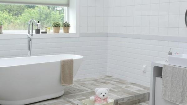Nahtlos naturfreundlich bad neu gestalte