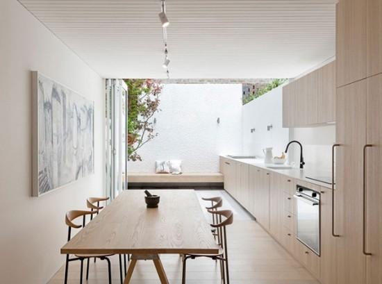 Outdoor Küche Verbindung zwischen innen außen