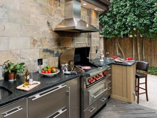 Outdoor Küche moderne