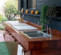 Outdoor Küche für mehr Sommergenuss im Freien