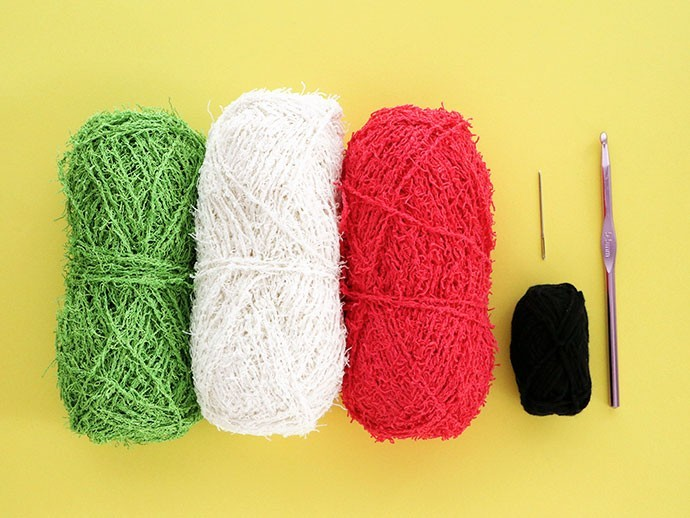 Spültuch materialien in vier farben