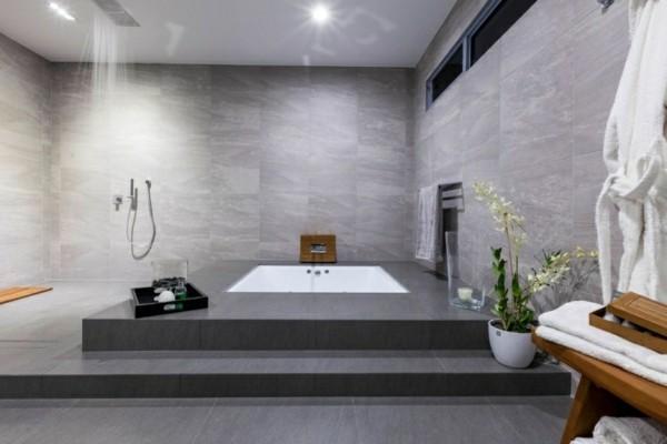 Stufenartige Gestaltung bad neu gestalten