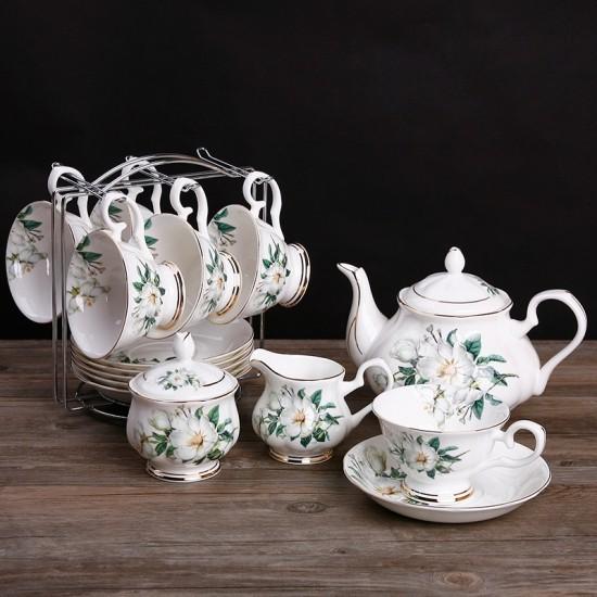 Tea time auf englischer Art Teeservice