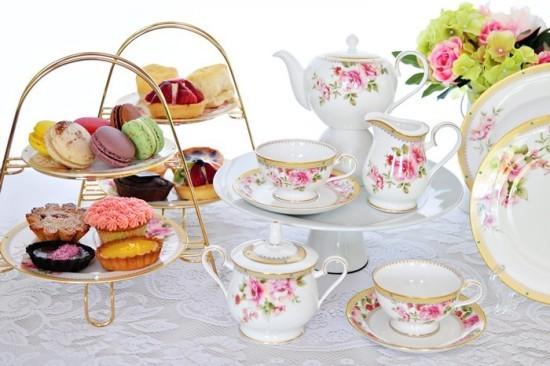 Tea time auf englischer Art