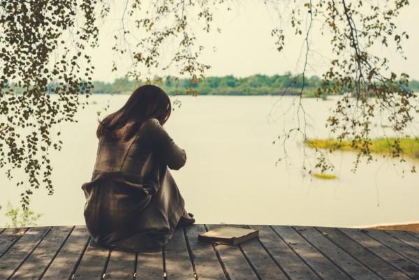 Verdiente mentale Pause Auszeit ohne Stress in der Natur Ruhe finden
