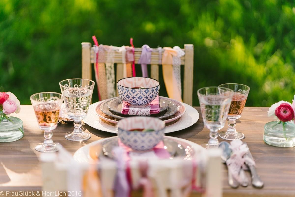 Vintage Tee Party Deko – die alte Tradition erscheint im neuen Glanz ...